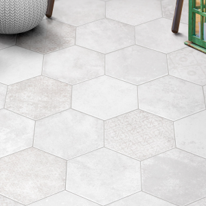 Hexagon-Pompeia-Decor-Blanco