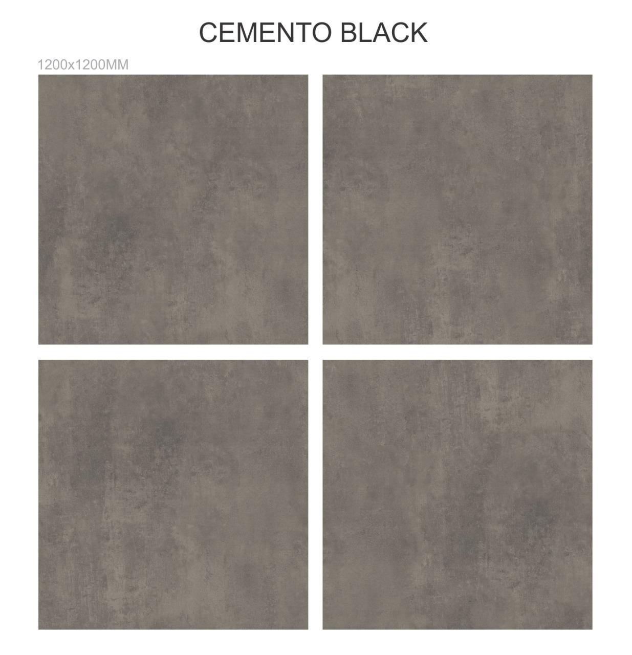 Cemento Black 1200x1200mm
