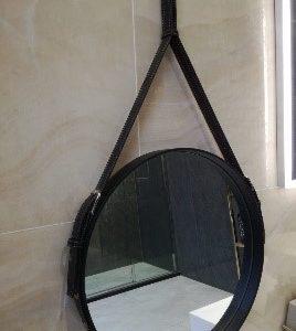 Spiegel met led en band