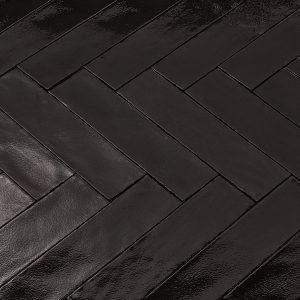 Oud Hollands Handvorm Witjes mat zwart 7,5 x 30